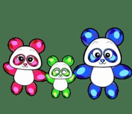 Jewel Panda sticker #10714052