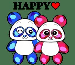 Jewel Panda sticker #10714056