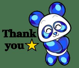 Jewel Panda sticker #10714057