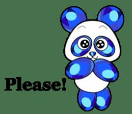 Jewel Panda sticker #10714069