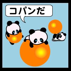 child's giant panda