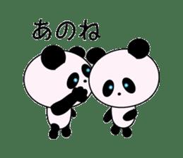 child's giant panda sticker #10715765