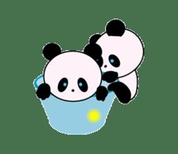 child's giant panda sticker #10715767