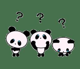 child's giant panda sticker #10715772