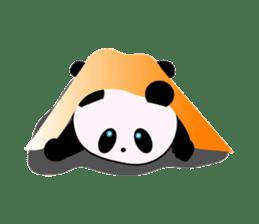 child's giant panda sticker #10715774