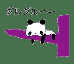 child's giant panda sticker #10715776