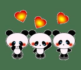 child's giant panda sticker #10715777