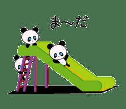 child's giant panda sticker #10715778