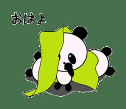child's giant panda sticker #10715781