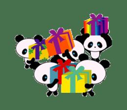 child's giant panda sticker #10715782