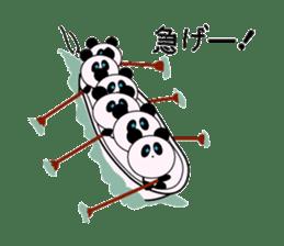 child's giant panda sticker #10715788