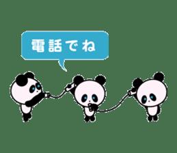 child's giant panda sticker #10715792