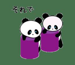 child's giant panda sticker #10715799