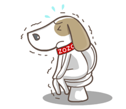 Zozo, Otis and the Healthy Gang sticker #10719342