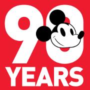 สติ๊กเกอร์ไลน์ Mickey Mouse 90th Anniversary