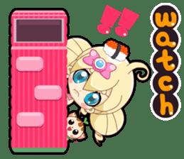 Pink Pink Childhood Mini sticker #10724531