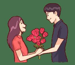Romantic Lovers sticker #10735531