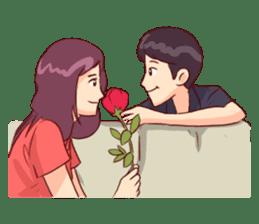 Romantic Lovers sticker #10735538