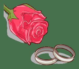 Romantic Lovers sticker #10735542