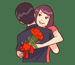 Romantic Lovers sticker #10735544