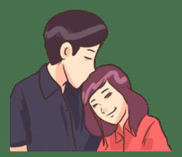 Romantic Lovers sticker #10735546