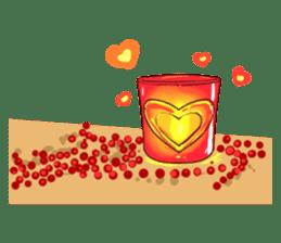 Romantic Lovers sticker #10735548