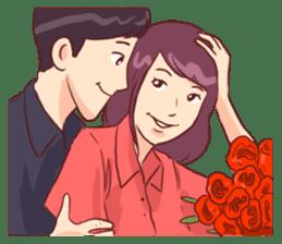 Romantic Lovers sticker #10735549
