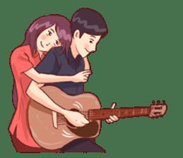 Romantic Lovers sticker #10735555
