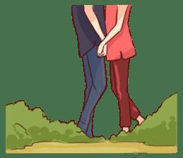 Romantic Lovers sticker #10735557