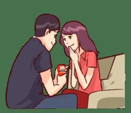 Romantic Lovers sticker #10735564