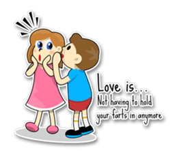 Couple Love Quotes sticker #10742711