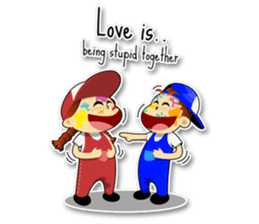 Couple Love Quotes sticker #10742713