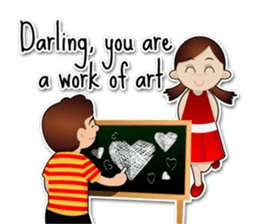 Couple Love Quotes sticker #10742717