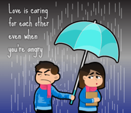 Couple Love Quotes sticker #10742726