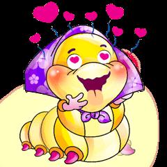 A Pretty Sweet Bug: Worm Lady
