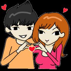 Love Love Romantic Couple