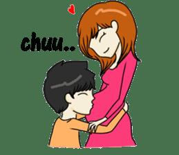 Love Love Romantic Couple sticker #10743606