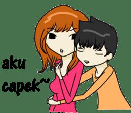 Love Love Romantic Couple sticker #10743616