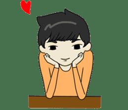 Love Love Romantic Couple sticker #10743639