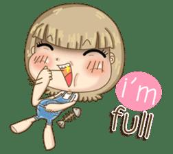 Twinkling Girl (Eng) sticker #10760457