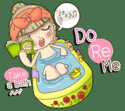 Twinkling Girl (Eng) sticker #10760458