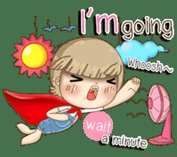 Twinkling Girl (Eng) sticker #10760462