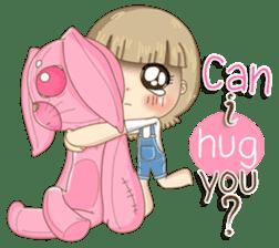 Twinkling Girl (Eng) sticker #10760465