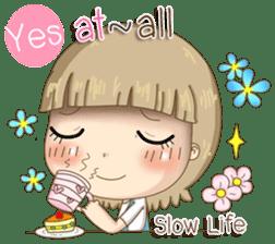 Twinkling Girl (Eng) sticker #10760471