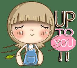 Twinkling Girl (Eng) sticker #10760473