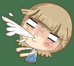 Twinkling Girl (Eng) sticker #10760475