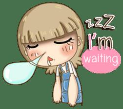 Twinkling Girl (Eng) sticker #10760477