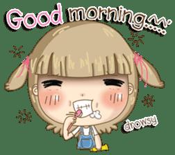 Twinkling Girl (Eng) sticker #10760478