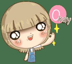 Twinkling Girl (Eng) sticker #10760480