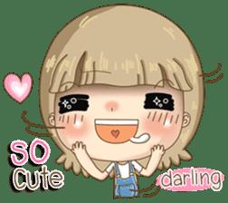 Twinkling Girl (Eng) sticker #10760484